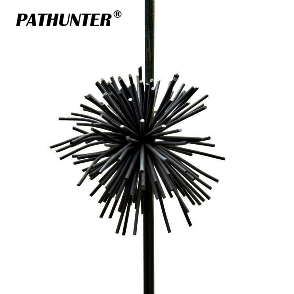 PATHUNTER 2Pcs/Bag Bow Stabilizer Archery Compound Bow Stabilizer String Silencer Shooting Recurve Bow String Stabilizer