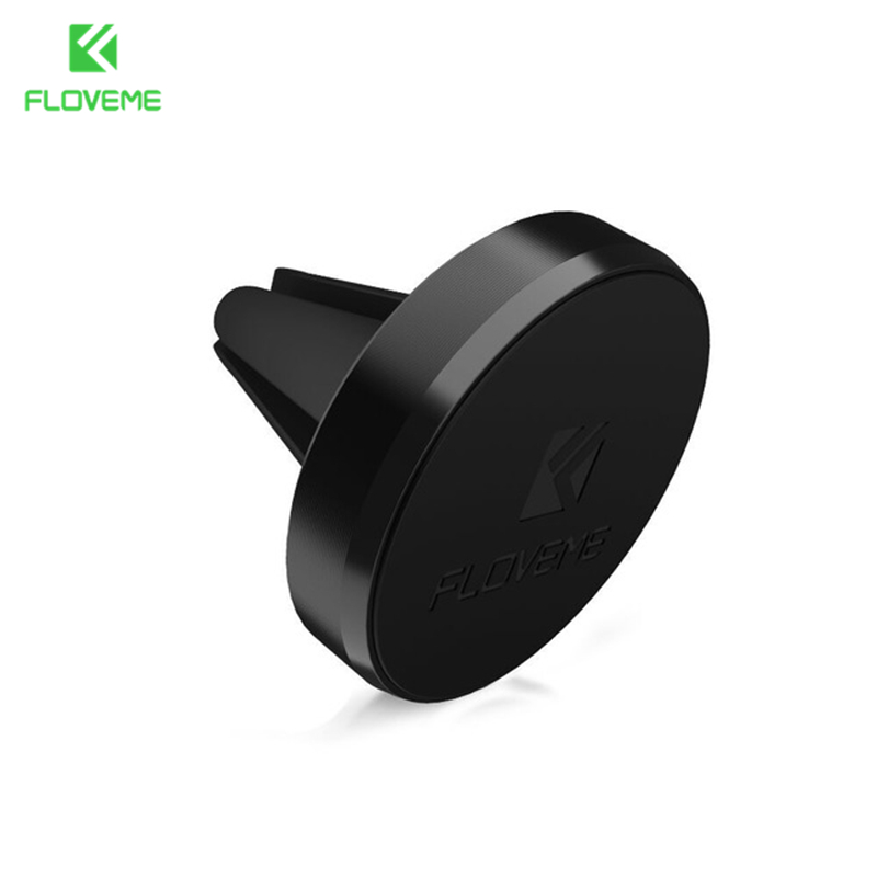 FLOVEME Universal Car Magnetic Mobile Phone Holder Air Vent Mount Stand 360 Rotation Phone Holder For iPhone 7 6 6S Samsung S7