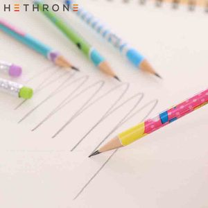 Image 5 - Hethrone 12pcs Animal wooden pencils for school Student writing drawing pencil set crayons sketch graphite lapices school items