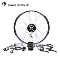 Цветной дисплей водостойкий 48v500w Bafang передний/задний Электрический велосипед Conversion Kit бесщеточный мотор ступицы колеса