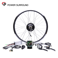 Color display Waterproof 48v500w Bafang Front/rear Electric Bike Conversion Kit Brushless Hub Motor wheel