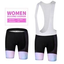 Bib Shorts Pants Cycling Roupa-Ciclismo MILOTO Lycra Summer Women Riding-Equipment 3d-Gel-Pads