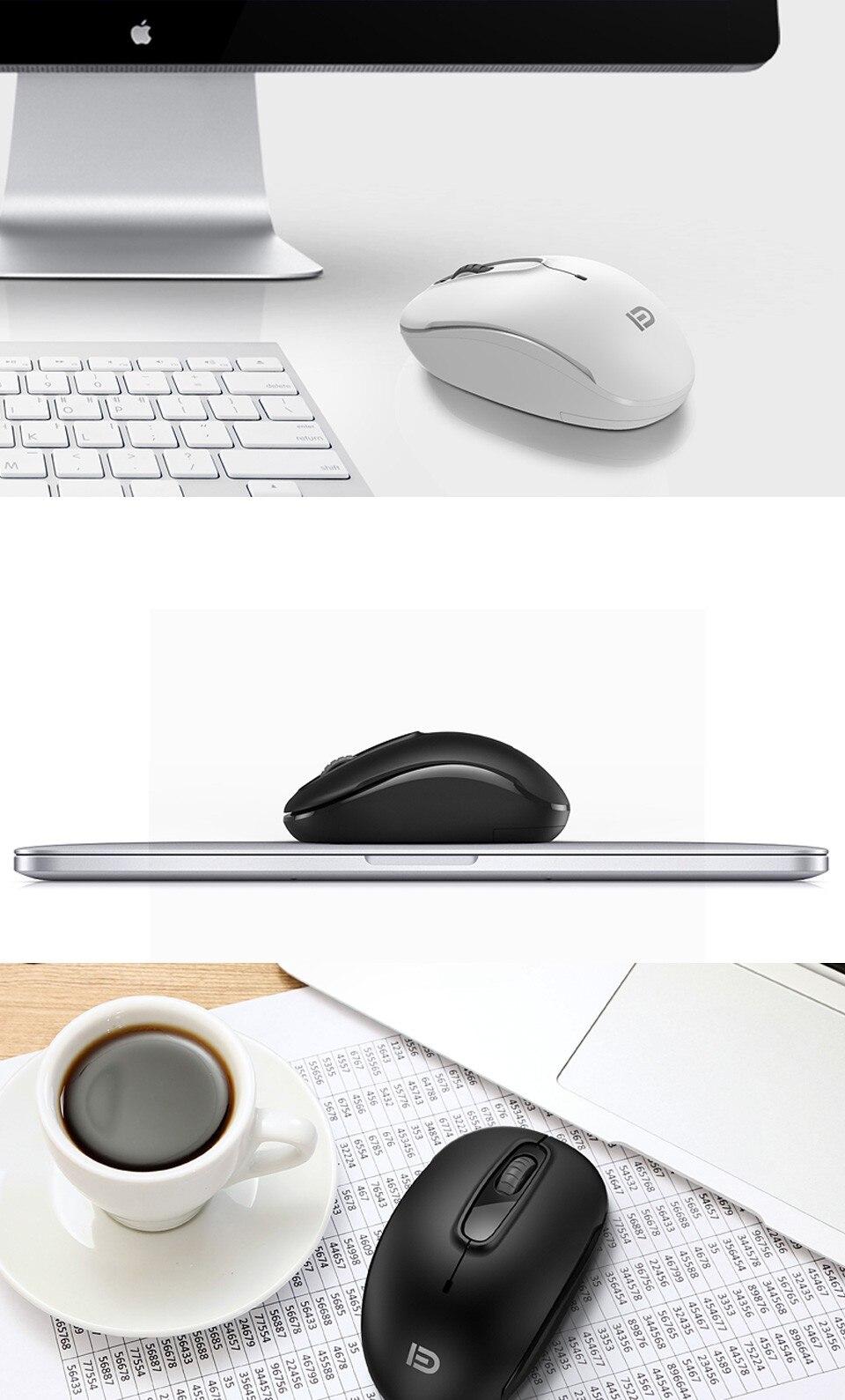 2.4Ghz Mini Portable USB Wireless Mouse 1600dpi Slient Gaming Mouse for Macbook Windows Laptop PC Computer 100% Original