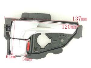 Image 2 - اليسار/اليمين بالكهرباء مشرق اللون الداخلية مقبض الباب لشركة هيونداي IX35 توكسون 82610 2S010 82620 2S010 أعلى جودة
