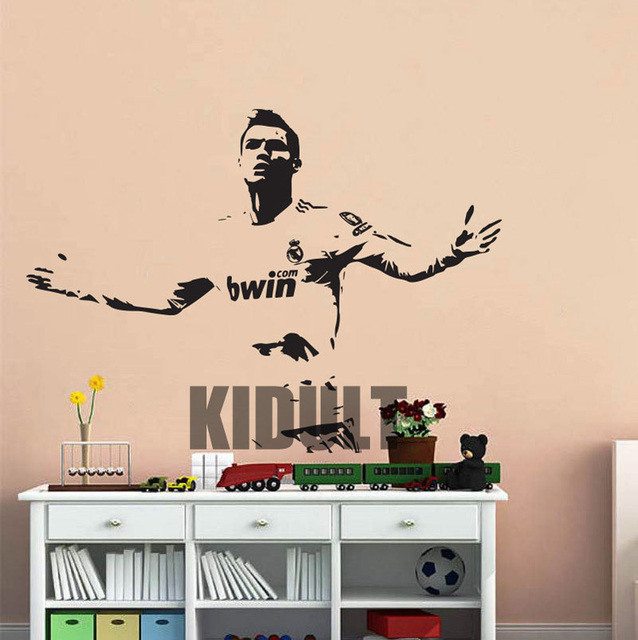 Ronaldo Wandtattoo Fußball Promi Promi Vinyl Kinderzimmer Wandaufkleber  Wohnzimmer Schlafzimmer Wandbilder