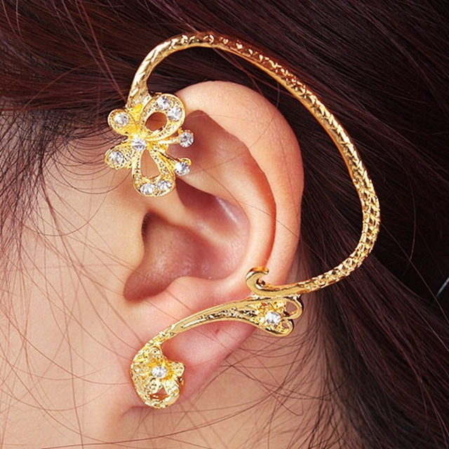 Ring In Kaars.2015 Real Women Earing Brincos Fashion Ears Ring Ear Earrings Wide