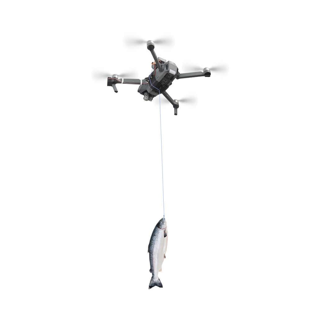 Shinkichon Pelter Fish Bait Advertising Ring Thrower Dropper Air Dropping  for DJI Mavic Pro /Platinum Drone Fishing