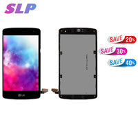 Skylarp 5.5 inch u Black Complete LCD for LG D290 L Fino, D295 L Fino Dual Cell Phone Full LCD display Touch screen