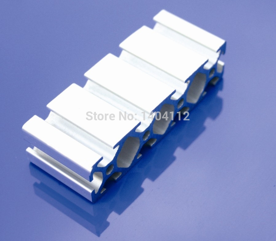 Aluminum Profile Aluminum Extrusion Profile 2080 20*80 Commonly Used In Assembling Device Frame, Table And Display Stand