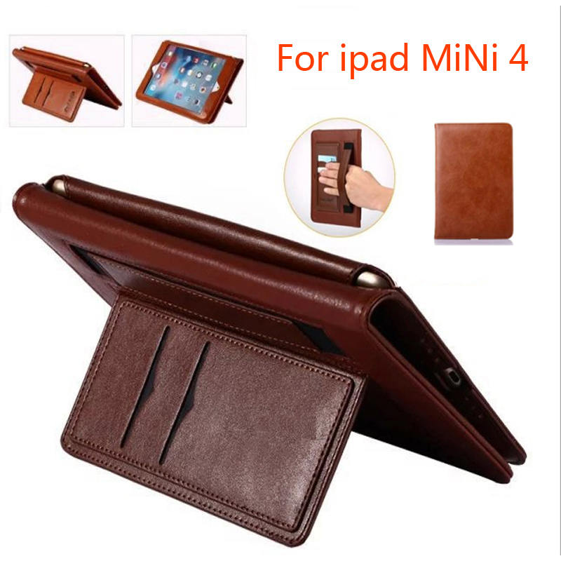 Case for Apple IPad Mini 4 Multifunctional Stand Super Slim Leather Case 2017 new For ipad Mini 4 Cover case Stylus Pen Gifts