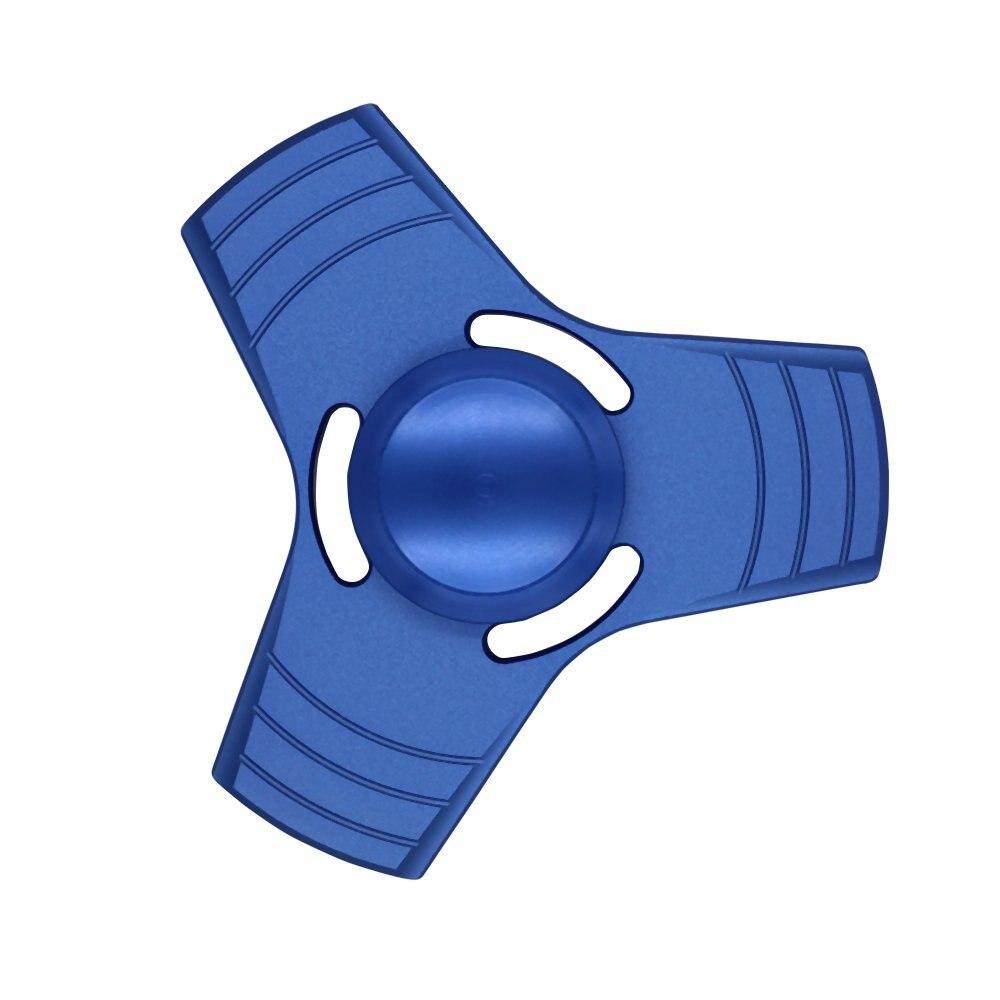 5 цветов EDC Спиннеры НЛО Tri-блесны ручной Spinner Алюминий сплав Непоседа игрушки беспокойство стресс взрослых малыш Металл Spinner