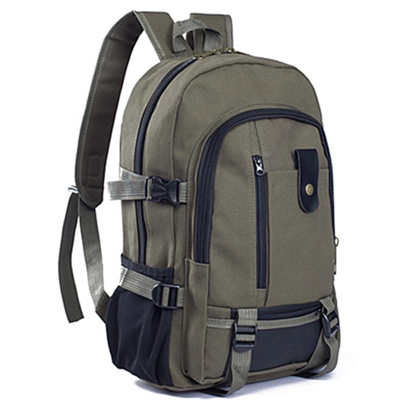 Men Travel Vintage Men Fashion Nylon Laptop Backpack School Bag Teenager Backpack Classic Design Large Capacity Casual Backpack