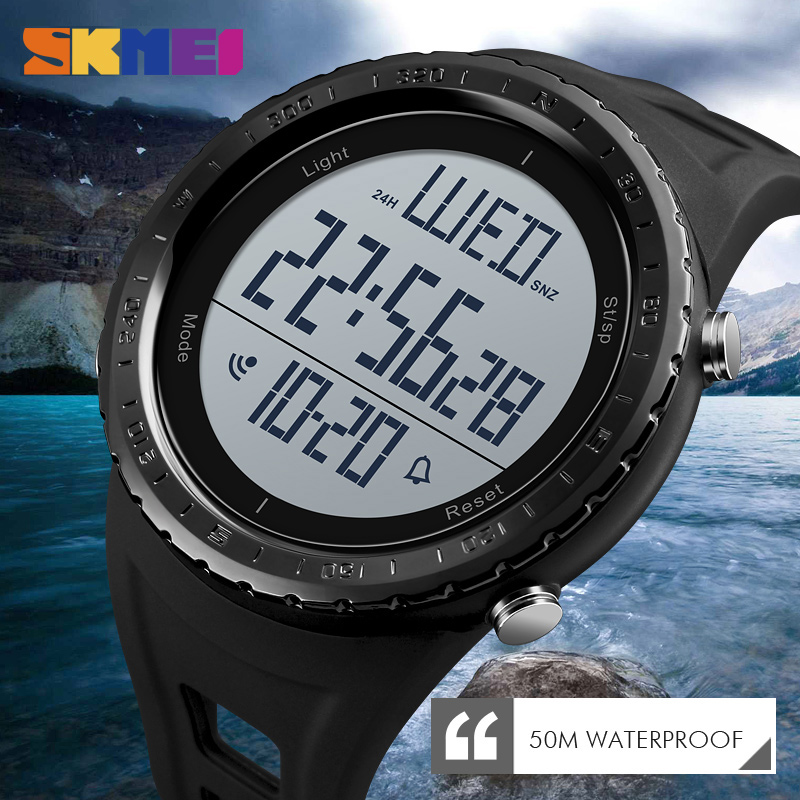 SKMEI Men Sport Watches Outdoor Swimming Diving Electronic ...