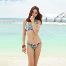 FREE SHIPPING Bikini Set Floral Printed Swimsuit JKP417