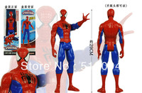 Free Shipping Amazing Spider Man Movie Spiderman Ultra Action Figure Toy Retail Box 30cm HRFG106