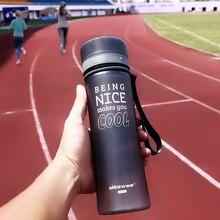 Botellas De Agua Botella de agua Del Deporte Bike Ciclismo de Agua Portátil Té Infusor garrafa de agua Vaso De Plástico