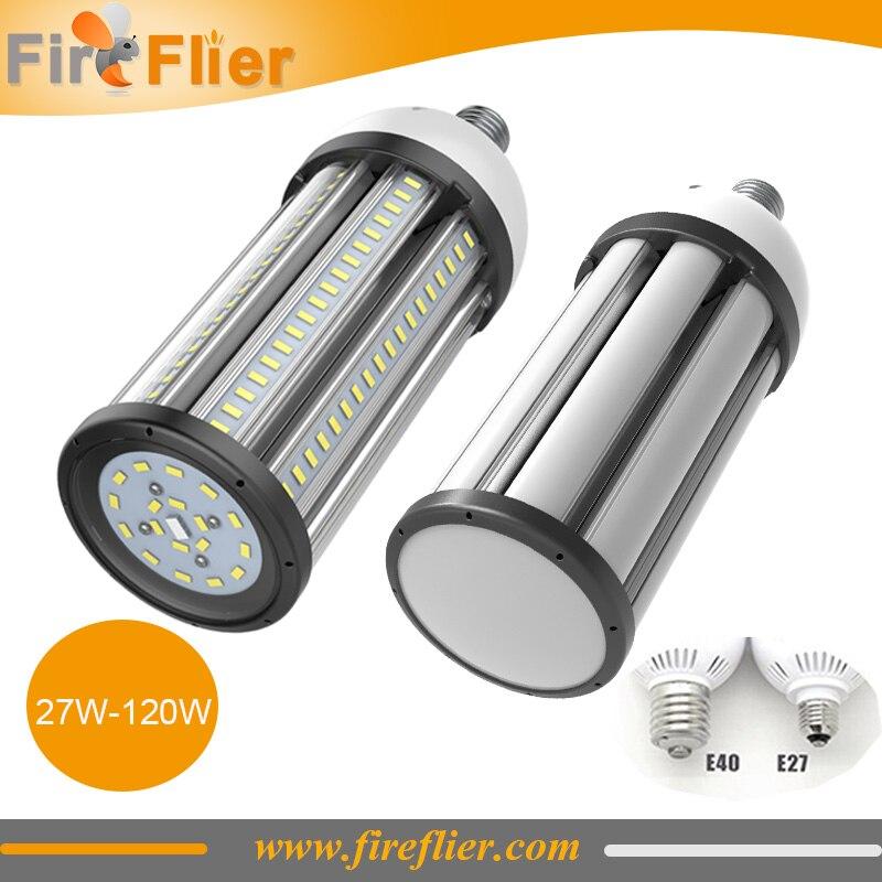 12pcs/lot E27 E40 Warehouse Lamp Led Bulb 30w 40w 50w 60w 80w 100w 120w Maize Led Bulb E26 Outdoor Ip64 Corn Lamp Closed Housing Led Bulbs & Tubes
