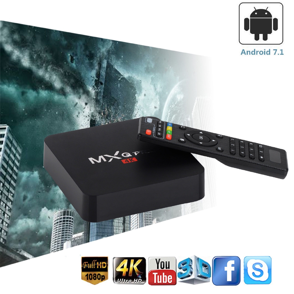 Android TV Box MXQ PRO RK3229 4k 2GB 16GB Smart Box IPTV Android 7 1 4K HD  3D 2 4G WiFi PK H96 MAX X96 Android Box
