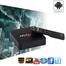 Android TV Box MXQ PRO RK3229 4k 2GB 16 GB, inteligentne pole IPTV androida 7.1 4K HD 3D 2.4G WiFi PK H96 MAX X96 android box(China)