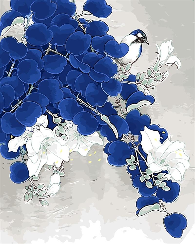Arակարանանդա ծաղիկներ կապույտ - Տնային դեկոր - Լուսանկար 3