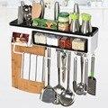 Многофункциональная кухонная коробка для приправ  настенная полка для хранения  пластиковая подвесная стойка  крючок  кухонный органайзер ...