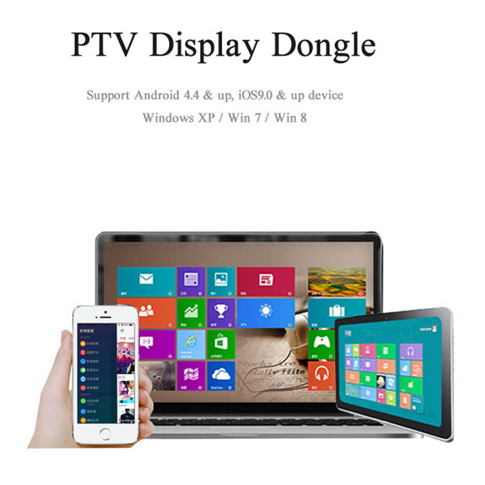 US $19 89 |Colohas Wifi PTV Display Dongle Adapter Output with HDMI  Interface HDTV Projector Support Miracast DLNA AirPlay for Tablet-in  Computer