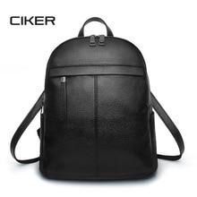 Ciker 2017 модные женские туфли рюкзак высокое качество Молодежные кожаные рюкзаки для девочек-подростков женские школьников рюкзак Mochila