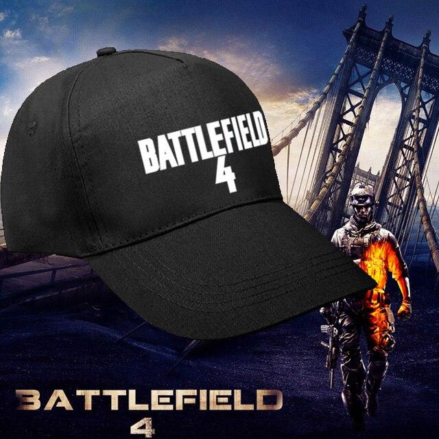 Крутая Игра Battlefield 4 Шляпа Регулируемые Косплей Бейсболка Хлопок Игрушка в Подарок Черный Цвет Мужская