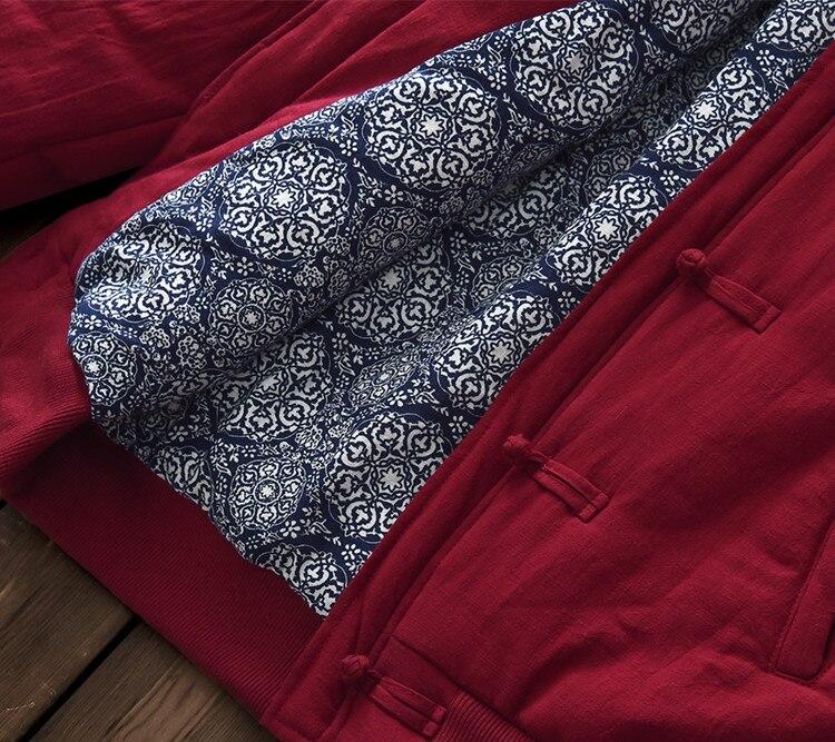 Casual Hiver Coton Nouveau Rétro Et Lin Ajouter Chaud C028 Femmes rembourré Thicking Broderie Vêtements Coton Garder De 2018 Au p1Z4xqdwp