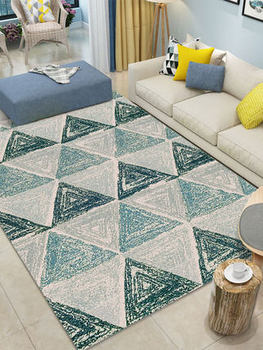 Nordic living room carpet bedroom full line home modern minimalist coffee table blanket bedside mat machine washable