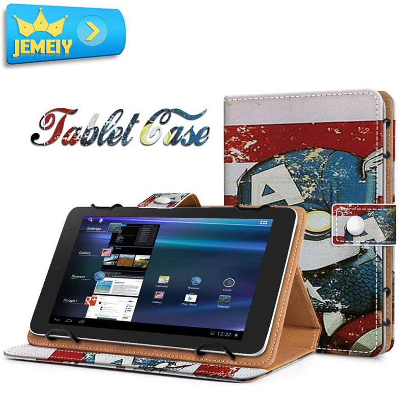 US $14 99 |8inch Universal Tablet Leather Case For Alcatel Onetouch Pop 8  8S/Alcatel Onetouch Pixi 3 3G Tablet cover Printed Stand cases-in Tablets &