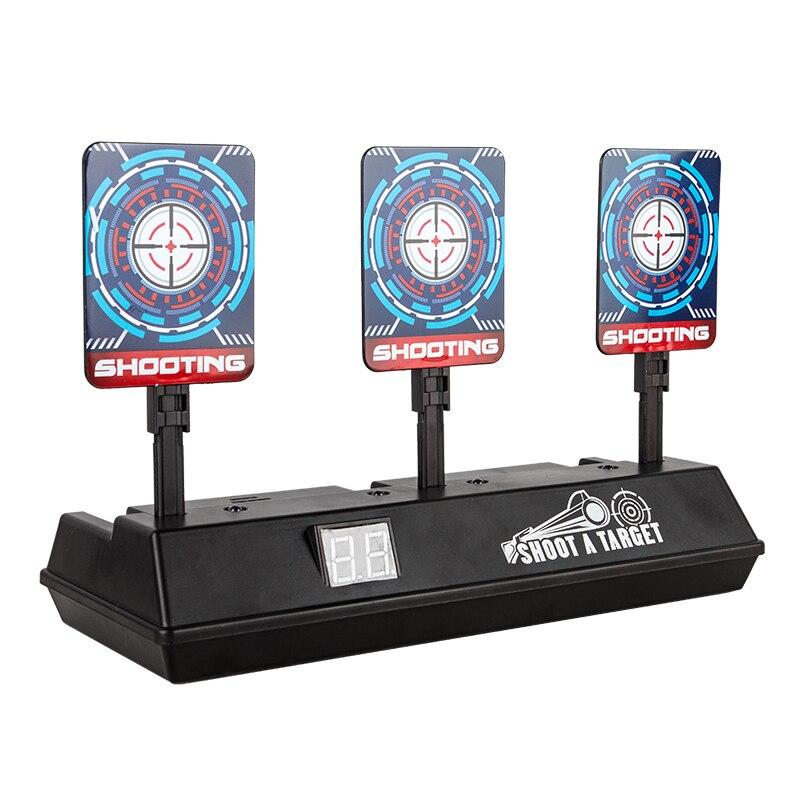 Intelligent Auto-Reset Electronic Scoring Target For Nerf N-Strike Elite/Mega/Rival Series Light Sound Scoring Target