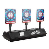 Intelligente Auto-Reset Punteggio Elettronico Obiettivo per Nerf N-Strike Elite/Mega/Rivale Serie Luce Del Suono punteggio di Destinazione