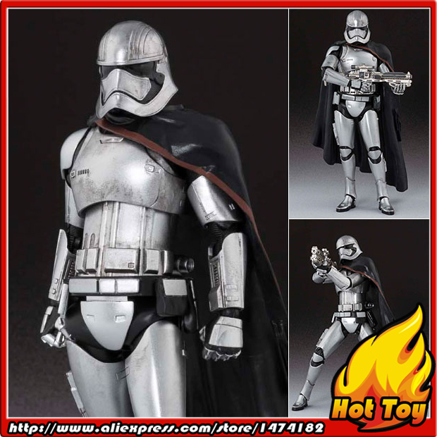 100% Original BANDAI Tamashii Nations S.H.Figuarts (SHF) Action Figure - Captain Phasma from Star Wars: The Force Awakens captain america civil war original bandai tamashii nations s h figuarts shf exclusive action figure war machine mark 3