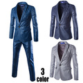 (Jackets+Pants) 2016 New Men Suits Slim Custom Fit Tuxedo Brand Fashion Bridegroon Business Dress Wedding Suits Blazer