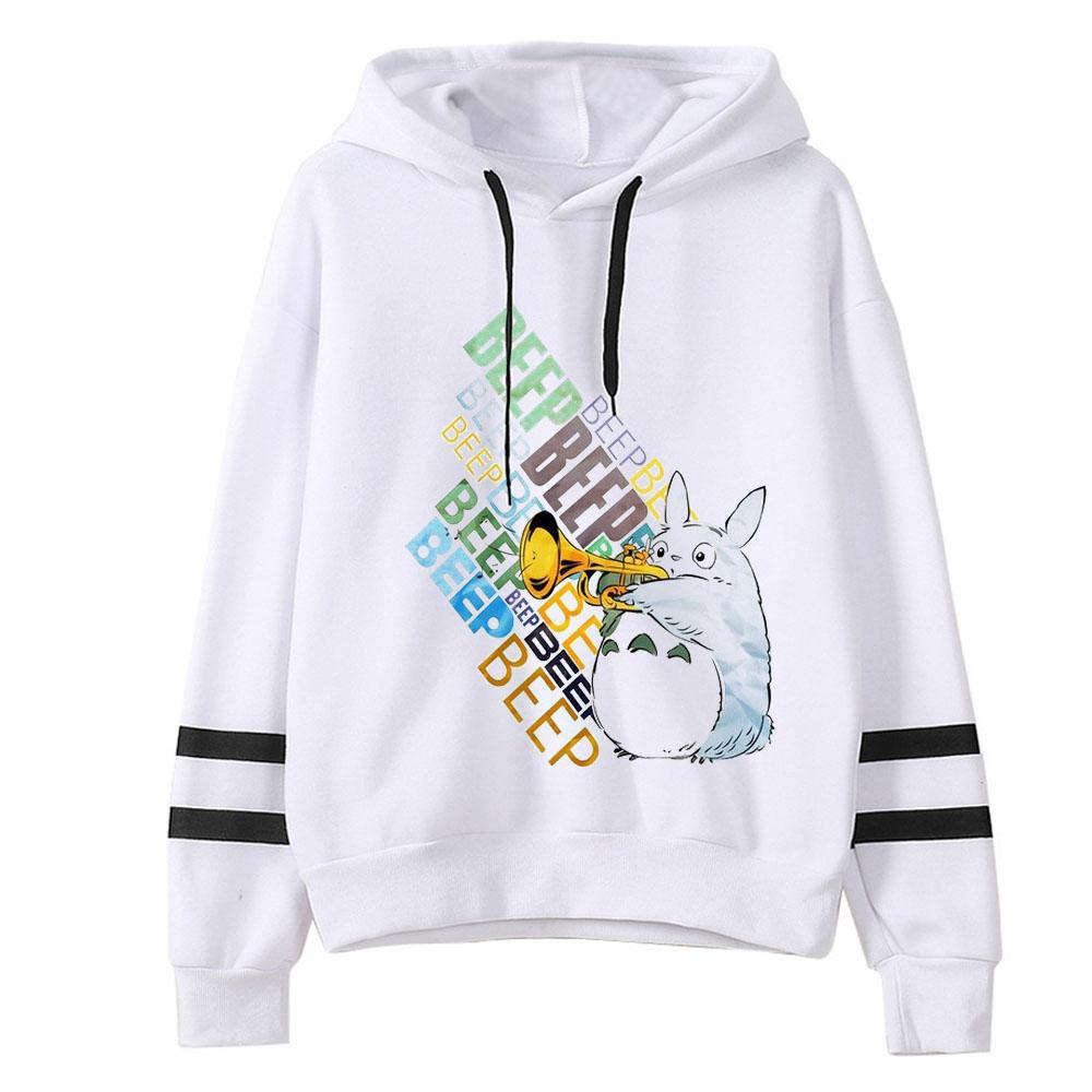 HTB1tqSWaU rK1Rjy0Fcq6zEvVXaA - 2019 Spring Autumn kawaii Women Cute Totoro Print Hoodies Women harajuku Long Sleeve Hooded Cartoon Printting Sweatshirts Tops