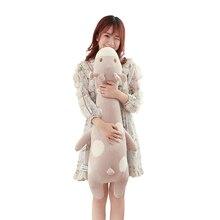 100cm kawaii Giraffe emoji plush sleeping pillow toy cute soft kids toys stuffed dolls for children girls gifts