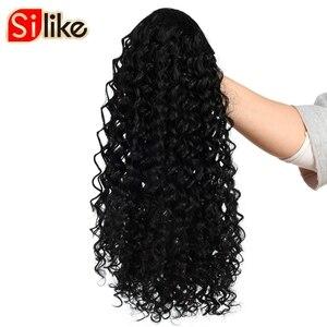 Накладные волосы Silike Warp для конского хвоста, 12 дюймов, кудрявые вьющиеся шнурки для конского хвоста, 150 г/упак., африканская и американская уп...