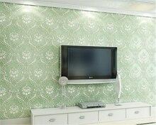 цена на beibehang Stereo Big Flower Classic 3D Relief NonWoven papel de parede 3d Wallpaper Bedroom Living Room TV Background Wallpaper
