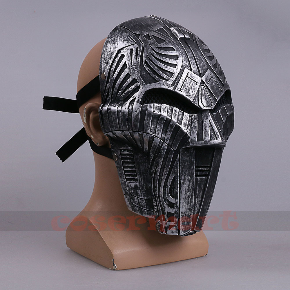 2017 Mowie Star Wars 7 The Force Awakens Mask Sith Lord Mask Cosplay Costume Resin Halloween Carnival Party (4)