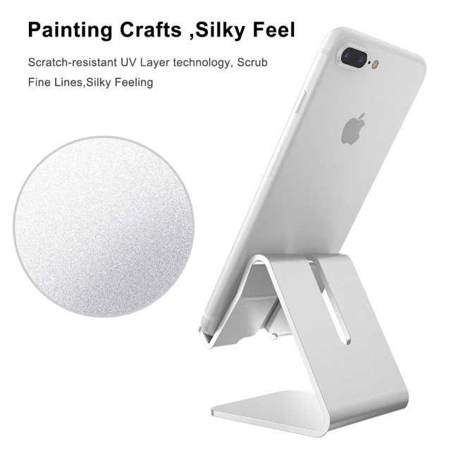 Universal Aluminum Metal Mobile Phone Tablet Desk Holder Stand For iPhone For Samsung For iPad Smartphone Tablets Charger Stands