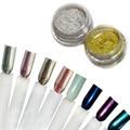 12 Colores Bling Glitter Mirror Chrome Chrome Pigmento pigmento En Polvo de Uñas Manicura Hermosa Lentejuelas Del Arte Del Clavo Glitters Vtirka
