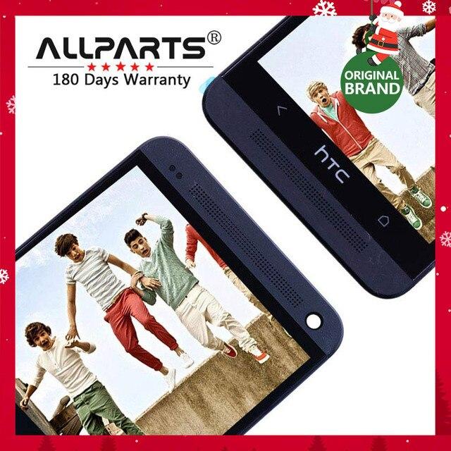Оригинал 4.7 ''дисплей для HTC One M7 сенсорный ЖК-экран HTC One M7 дисплей планшета 801e черный красное золото синий Серебряный