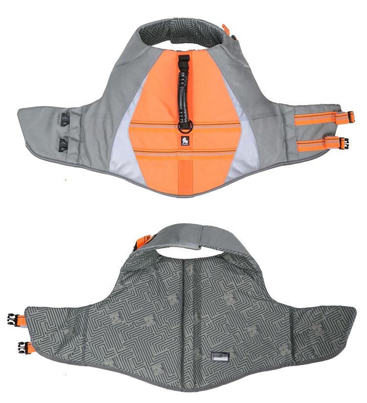 Truelove Pet Dog Life Jacket Vest Flotation Device Safety Adjustable Reflective Secure Swimwear Dog Life Saver french bulldog (12)