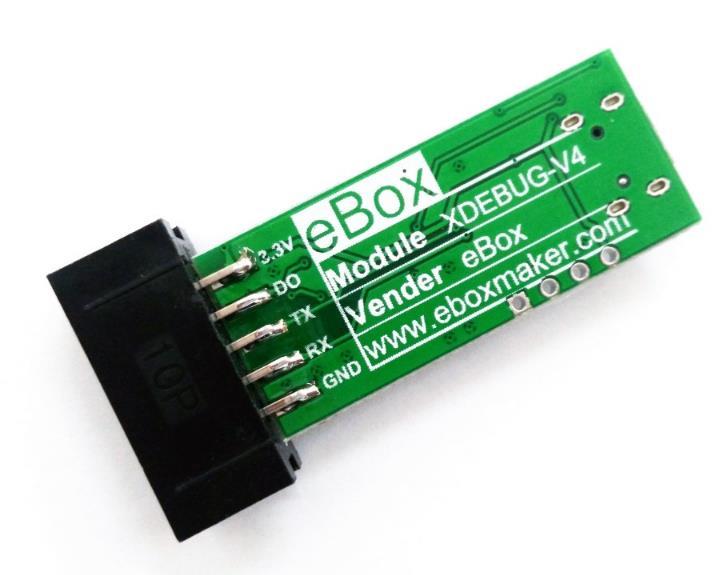 XDEBUG-V4usb to the serial port J.L.in.k SWD arm-ob/STM32 debugger eBox