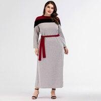 2e6135950b483 Muslim Abaya Cotton Jubah Moroccan Middle East Arab Islamic Clothing Maxi  Dress Cardigan Loose Style Plus