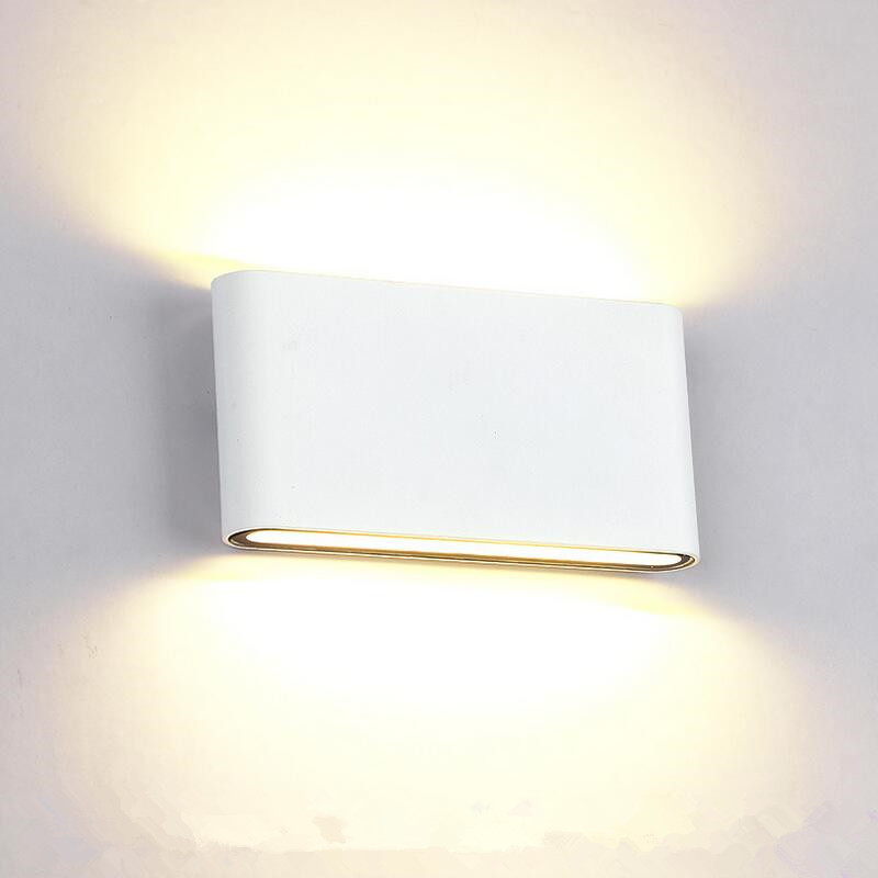 6pieces 8w/14w Led Outdoor Wall Light Ip65 Waterproof Wall Lamp Garden Lights Led Wall Sconce Up Down Lighting Bathroom Lamp Led Lamps