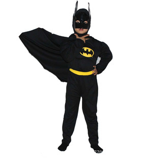 2016 hot costumes for children kids carnival super hero cosplay clothing muscle Batman Zorro Christmas gifts Instyles