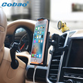2017 COBAO new Car Air Vent holder Car mobile Phone bracket for apple ipone 5 5s 6 samsumg LG/Mobile phone accessories