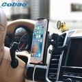 2017 cobao new car air vent titular del teléfono móvil del coche soporte para apple ipone 5 5S 6 samsumg lg/teléfono móvil accesorios